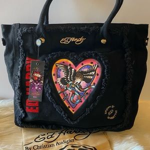 👜ED HARDY By CHRISTIAN AUDIGIER Francie Tote 👜